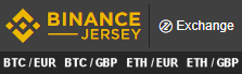 Binance Jersey Exchange